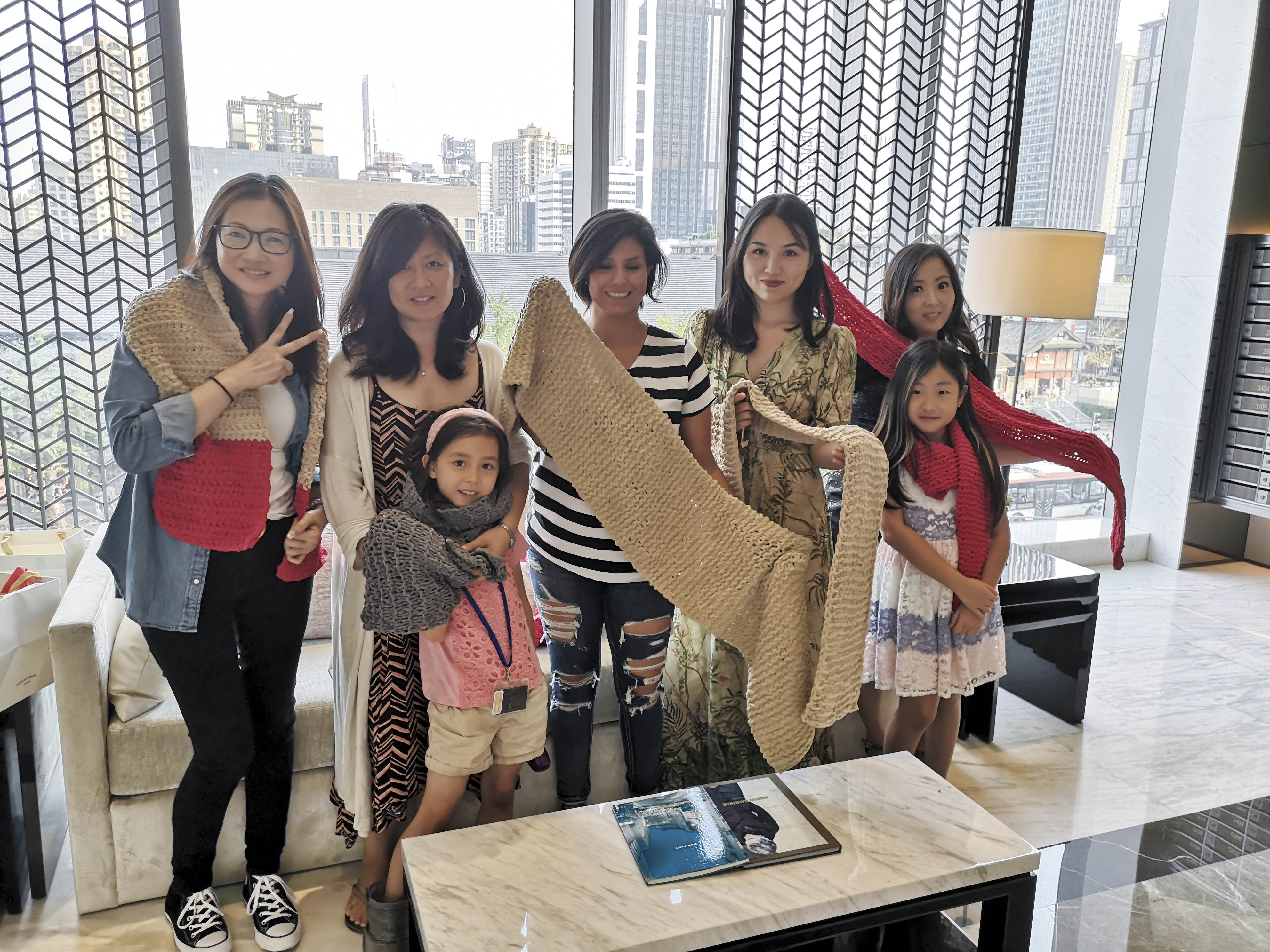 Charity Initiative Knitting for Love - IFS Residences 国金豪庭